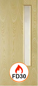 Ash - Real Wood Veneer with Clear 06 Gla...