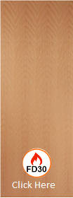 Beech - Real Wood Veneer Flush - FD30 - 44mm - JW