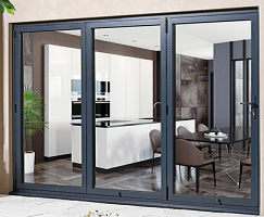 External 10ft ALUVU Folding Doors in Pre...