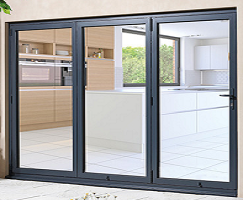 External 8ft ALUVU Folding Doors in Pref...