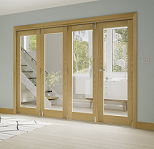 Oak Folding Door System - Unfinished Oak...