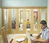 Freefold Internal Folding Door System wi...