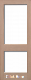 Hemlock 2XGG - Unglazed (No Glass) - Unf...