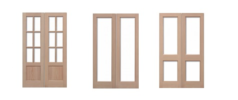 External Hemlock Door Pairs