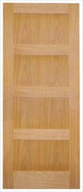 Oak 4P Contemporary - Unfinished - LP