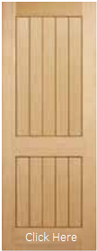 Oak Mexicano 2 Panel - Unfinished - LP