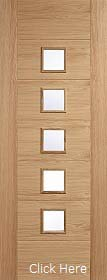 Oak Carini Glazed - Solid Core - Pre Finished - LPD