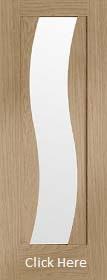 Oak Florence - Clear Glazed - Prefinished - XL