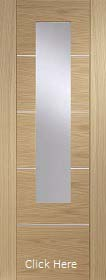 Oak Portici with Mirror Panel - Prefinished - XL