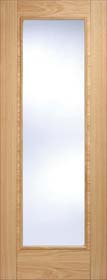 Oak Vancouver Pattern 10 with Clear Glass - Pre Finished - LP