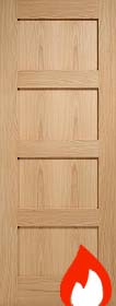 Oak 4P Contemporary - Unfinished - 44mm ...