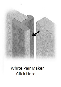 White Pair Maker - Primed - XL