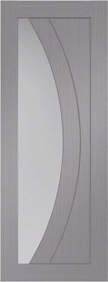 Light Grey Salerno Clear Glazed Pre Finished Xl