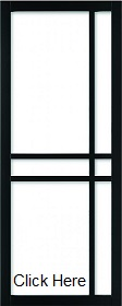 Black Industrial Door WK6314 Clear Glaze...