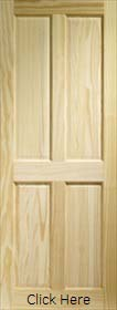 Clear Pine 4 Panel - Solid Core - LPD