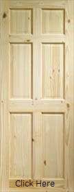 Knotty Pine Colonial 6 Panel - XL