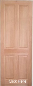 Hardwood Regency 4 Panel - Solid Core - ...