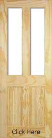 Clear Pine Richmond - Unglazed (No Glass...