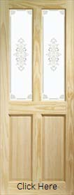 Pine Victorian with Campion Glass - Clear Pine  X