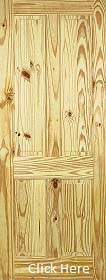 Knotty Pine 4 Panel - Solid Core - LPD
