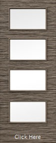 Mocha Horizontal 50R - Clear Glazed - Finished