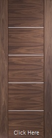 Walnut Portici with Aluminium Inlays - Prefinished - X