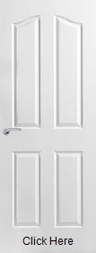 White Primed Provincial - Standard Core - Grained Finish - MB