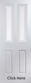 White Primed Arlington Marginal Bar Glazed - Smooth - JW