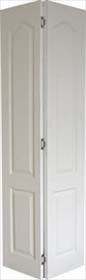 White Primed Classic Bifold Door - Grained Finish - MB
