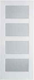 White Primed Contemporary Glazed - Solid Core - LPD