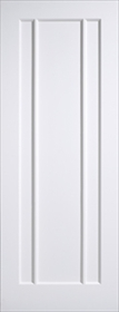 White Primed Lincoln 3 Panel - Solid Core - LP