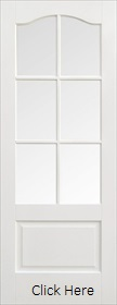 White Primed Kent Glazed - Solid Core - ...
