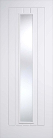 White Primed Mexicano - Clear Glass - Solid Core - LP