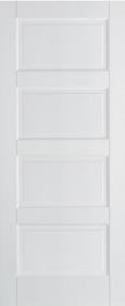 White Moulded Textured Contemporary - LP