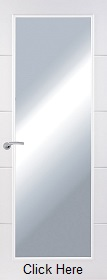 White Premium Horizontal 4 Line Clear Glazed - Smooth - PD