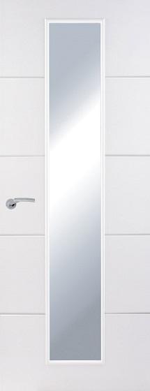 Premium Moulded Horizontal 4 Line Centre Clear Glazed