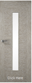 Light Grey Two Stile 29G - Clear Glass - Finished