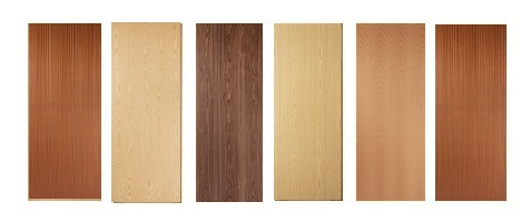 Real Wood Veneer Flush Firedoors FD30 44mm