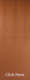 Sapele - Real Wood Veneer Flush - P...