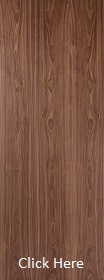 Walnut - Real Wood Veneer Flush - P...