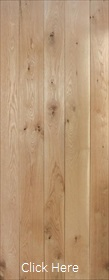 Solid Oak Ledged - Unfinished White Oak ...