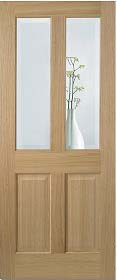Oak Richmond with Clear Bevelled Glass -...