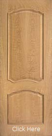 Oak Louis RM2S - Raised Mouldings - Pre Finished -LP