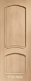 Oak Louis with Raised Mouldings - Unfinished - XL