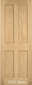 Oak London -  Flat Panel - Solid Core - ...
