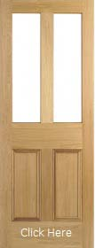 Oak Malton Unglazed (No Glass) - Unfinished  - LPD