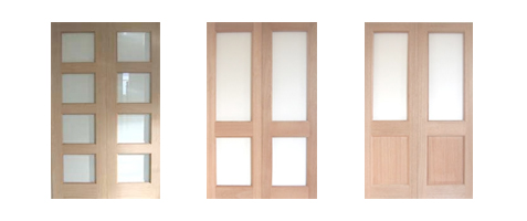 Internal Hardwood Door Pairs