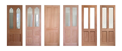 Hardwood Traditional Doors