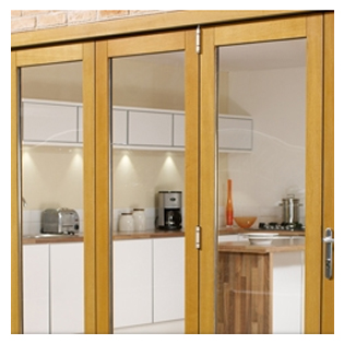 View our Folding Doors  Wood and Aluminium range