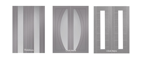 Internal Grey Door Pairs